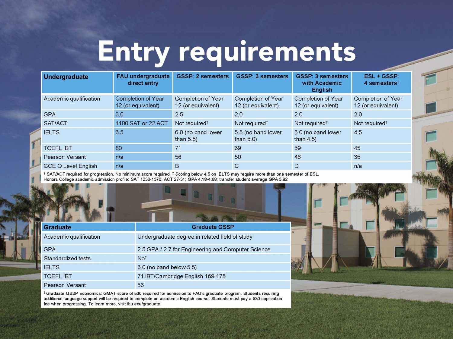 entry requirement
